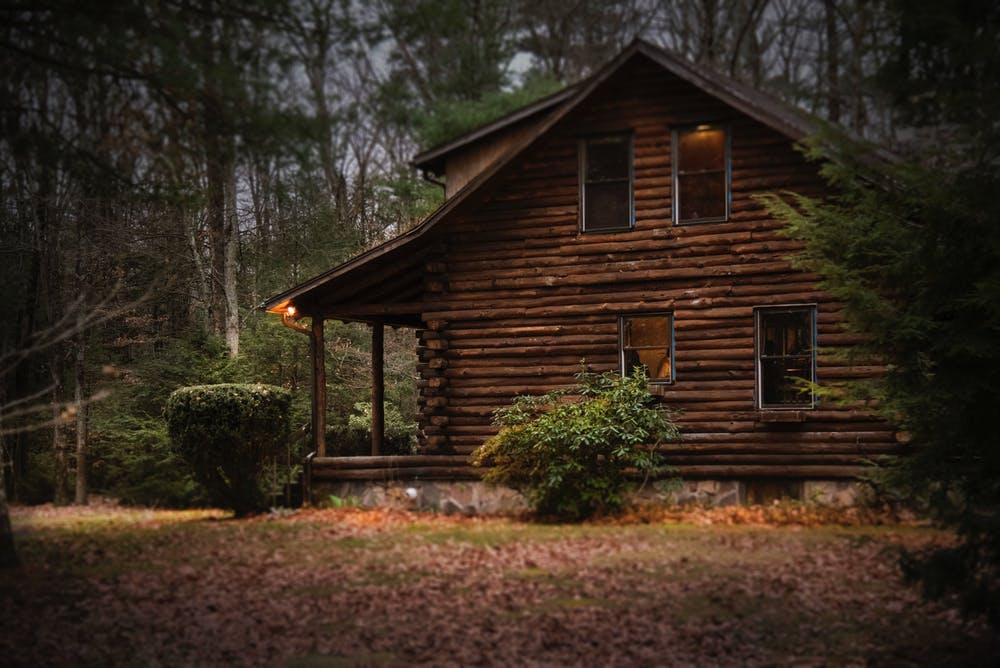 Log Cabin in Arkansas